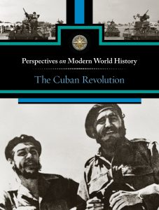 This is a book cover with Castro
