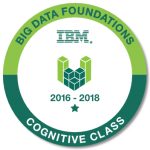 Big Data Foundations IBM 2016-2018 Cognitive Class